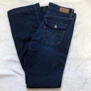 Levi's demi curve classic flare jeans
